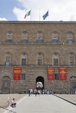 Pitti palace, largest museum complex in Florence. Stock Photos