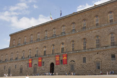 Pitti palace, largest museum complex in Florence. Royalty Free Stock Photos