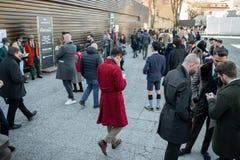 Pitti Uomo 95, Florencja, Włochy zdjęcia royalty free