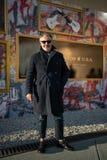 Pitti Uomo 95, Florenz, Italien stockbilder