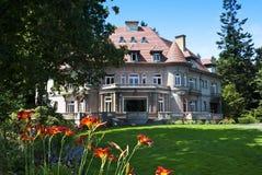 Pittock herrgård, Portland, Oregon Royaltyfria Foton