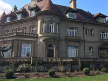 Pittock mansion Royalty Free Stock Photos