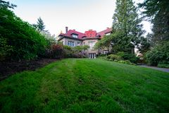 Pittock Mansion - French Renaissance-style chateau royalty free stock photos