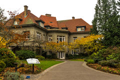 Pittock Mansion Museum stock image
