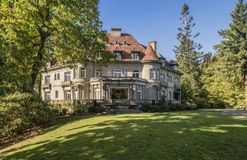 Pittock mansion property Portland Oregon. stock photos