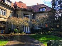 Pittock-Villa Stockbilder