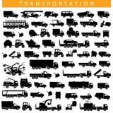 Pittogramma del trasporto di vettore Immagini Stock