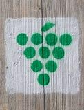 Pittogramma dell'uva Immagine Stock Libera da Diritti