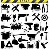 Pittogrammi dello strumento di vettore Fotografia Stock