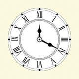 Pittogrammi di tempo Immagini Stock Libere da Diritti