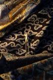 Pittore del batik Fotografie Stock Libere da Diritti