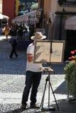Pittore della via Fotografia Stock