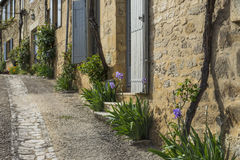 Pittoresk fransk gata Royaltyfri Foto