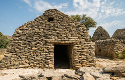 Pittoresk gammal by Bories nära Gordes i Provence, Frankrike Arkivbild