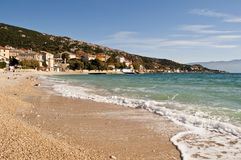 pittoresk havstown Arkivbild