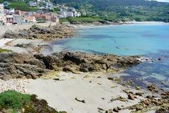 Pittoresk by i nordligt spanskt litoralt Royaltyfria Bilder