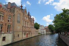 Pittoresk kanal royaltyfria foton