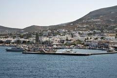 pittoresk port för greece paros Royaltyfria Bilder
