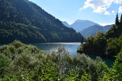 pittoresk ritsa för abkhazia lakeliggande Royaltyfria Foton