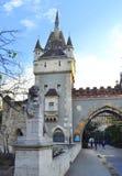 Pittoresk slott för Ungern Arkivbild