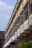 Pittoresk stad av Bristol - Clifton Village arkitektur Royaltyfri Bild