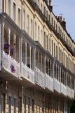 Pittoresk stad av Bristol - Clifton Village arkitektur Royaltyfri Fotografi