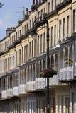 Pittoresk stad av Bristol - Clifton Village arkitektur Fotografering för Bildbyråer