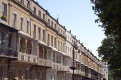 Pittoresk stad av Bristol - Clifton Village arkitektur Arkivfoton
