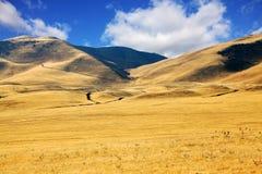 pittoreska Kalifornien kullar Arkivfoton