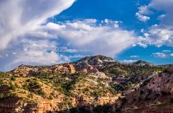 Pittoreska landskap av Arizona Resa till och med USA-reserverna Royaltyfria Bilder