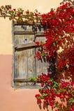 pittoreskt fönster arkivfoto
