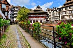 Pittoreskt Strasbourg, Frankrike Royaltyfri Foto