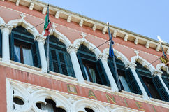 Pittoresque windows in Venice,Italy Stock Image