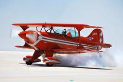 Pitts gira el humo Imagen de archivo libre de regalías