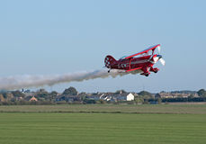 Pitts S2-S shows low-altitude flying Royalty Free Stock Photo