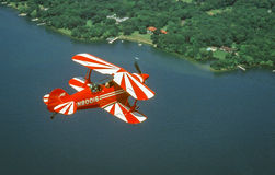 Pitts Special Acrobatic Airplane in Flight Stock Images