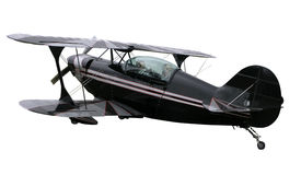 Pitts Special Biplane. A Pitts Special aerobatic plane isolated with clipping path Royalty Free Stock Images