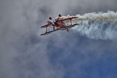 Pitts Special Biplane Performance Royalty Free Stock Image