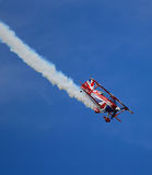 Pitts Special Biplane Performance Stock Image
