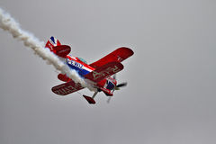 Pitts Special Biplane Performance Stock Photography