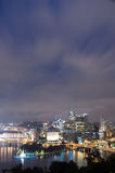 Pittsburg Cityscape Arkivfoto