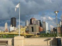Pittsburgh, 01 céntricos Imágenes de archivo libres de regalías