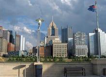 Pittsburgh, 02 du centre Photos libres de droits