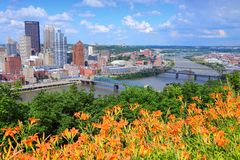 pittsburgh Fotografie Stock