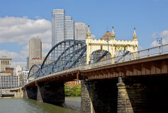Pittsburgh. Smithfield Street Bridge in Pittsburgh Royalty Free Stock Images