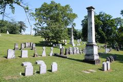 Pittsburgh - Allegheny Cemetery Royalty Free Stock Photo