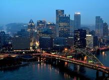 Pittsburgh-Aufwecken weckt Stockbilder