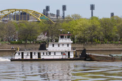 Pittsburgh Barge Royalty Free Stock Photography