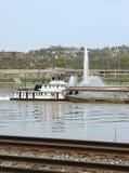 Pittsburgh barka Zdjęcie Royalty Free