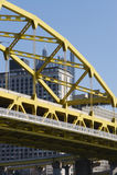 Pittsburgh-Brücke Stockfotos